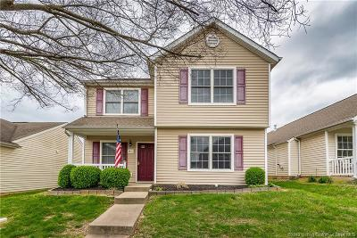 Jeffersonville Single Family Home For Sale: 3913 Hay Market Drive
