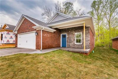 Corydon Single Family Home For Sale: 17 Old Capital Ridge