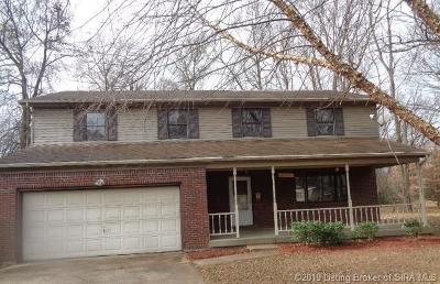 Clarksville Single Family Home For Sale: 3163 1/2 Taylor Drive