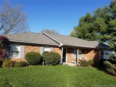 Jeffersonville Single Family Home For Sale: 3004 Rainfield Court