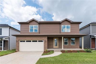 Sellersburg Single Family Home For Sale: 7006 (Lot 146) Meyer Loop