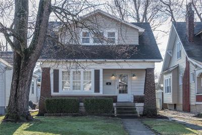 New Albany Single Family Home For Sale: 2210 Reno Avenue