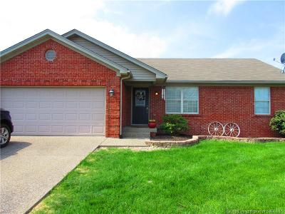 Sellersburg Single Family Home For Sale: 3909 Silver Glade Trail