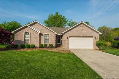 Sellersburg Single Family Home For Sale: 105 Meadow Drive