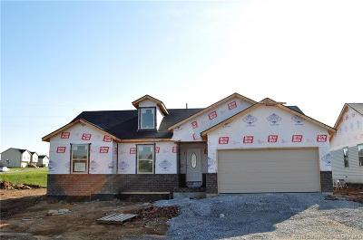 Charlestown Single Family Home For Sale: 8620 Oak Valley Dr. Lot 114