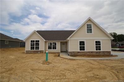 Sellersburg Single Family Home For Sale: 5450 - Lot 325 Verona Trace