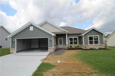 Sellersburg Single Family Home For Sale: 5448 - Lot 326 Verona Trace