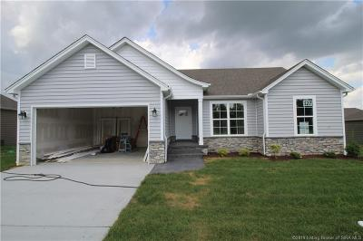 Sellersburg Single Family Home For Sale: 5446 - Lot 327 Verona Trace