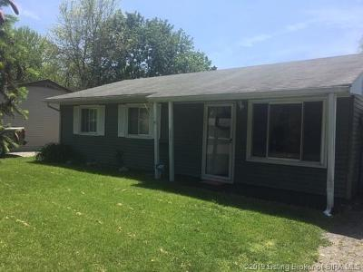 Jeffersonville Single Family Home For Sale: 1227 Cedarview Drive