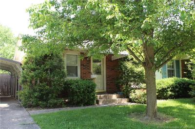 Jeffersonville Single Family Home For Sale: 907 Assembly Road
