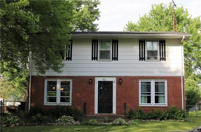 Jeffersonville Single Family Home For Sale: 921 Assembly Road