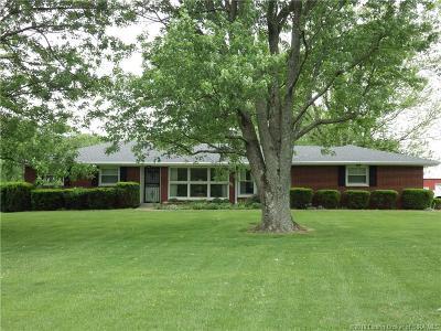 Lanesville Single Family Home For Sale: 3876 Crandall Lanesville Road