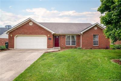 Jeffersonville Single Family Home For Sale: 4167 Silver Slate Drive