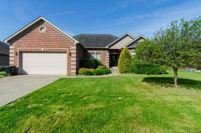 Jeffersonville Single Family Home For Sale: 3206 Heritage Heights Way