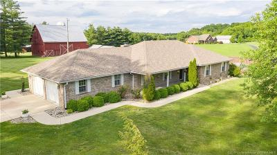 Corydon Single Family Home For Sale: 5250 Raccoon Creek Road NE