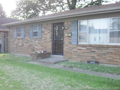 Jeffersonville Single Family Home For Sale: 1401 E 9th Street