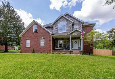 Sellersburg Single Family Home For Sale: 708 S Forrest Drive