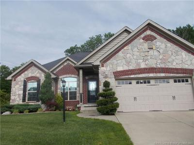 Jeffersonville Single Family Home For Sale: 3014 Old Cypress Trail