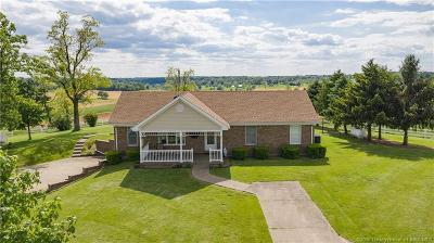 Lanesville Single Family Home For Sale: 1715 Old Salem Road