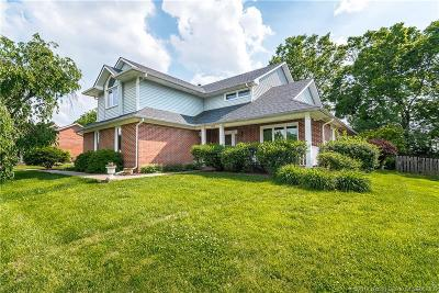 Jeffersonville Single Family Home For Sale: 3219 Lakewood Boulevard