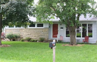New Albany IN Single Family Home For Sale: $129,900