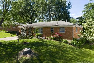 New Albany IN Single Family Home For Sale: $130,000