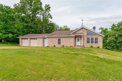 Harrison County Single Family Home For Sale: 8525 Rabbit Hash Road SE