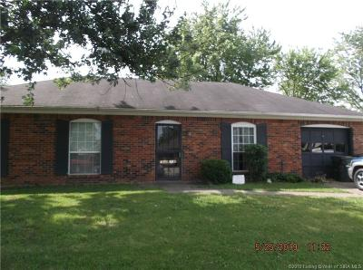Jeffersonville Single Family Home For Sale: 2402 Cornwell Drive