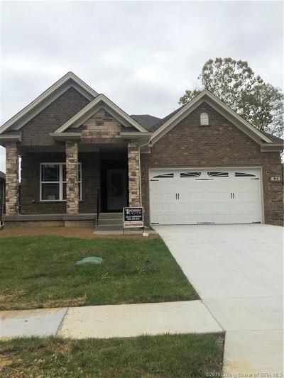 Floyds Knobs Single Family Home For Sale: 302 Tuscany Drive NE