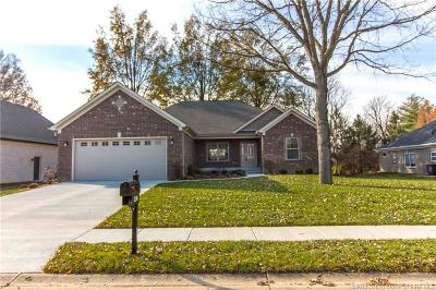 Jeffersonville Single Family Home For Sale: 2316 Elk Pointe Boulevard
