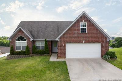 Jeffersonville Single Family Home For Sale: 2825 Horse Trail Road