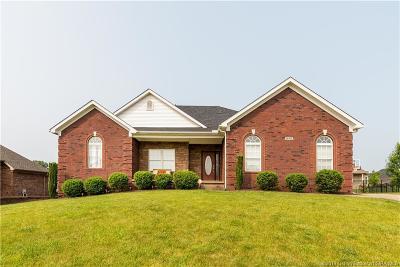 Sellersburg Single Family Home For Sale: 12305 Vardon Vista
