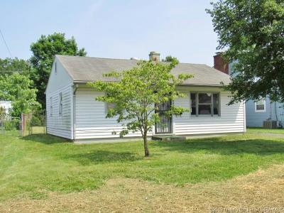 New Albany IN Single Family Home For Sale: $1