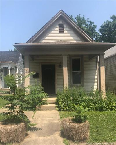 New Albany IN Single Family Home For Sale: $40,000