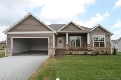 Sellersburg Single Family Home For Sale: 5444 - Lot 328 Verona Trace