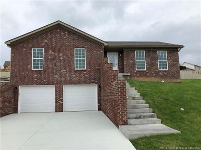 Jeffersonville Single Family Home For Sale: 2818 Rolling Creek (Lot #235) Drive