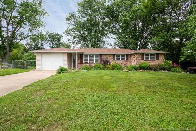 Henryville Single Family Home For Sale: 3605 Caney Road