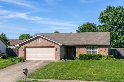 Jeffersonville Single Family Home For Sale: 1005 Sandstone Drive