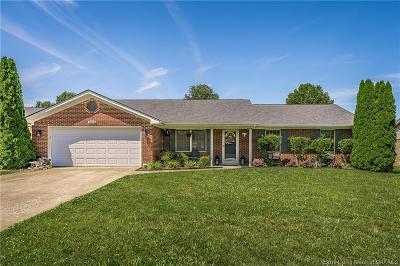 Jeffersonville Single Family Home For Sale: 3434 Alvin Drive