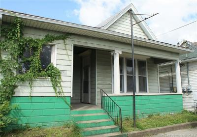 New Albany IN Single Family Home For Sale: $69,000