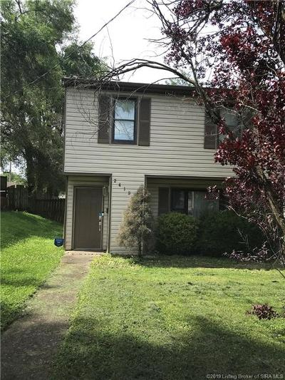 New Albany Single Family Home For Sale: 2419 Shelby Street