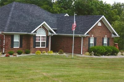 Lanesville Single Family Home For Sale: 4005 Westoak Valley Drive