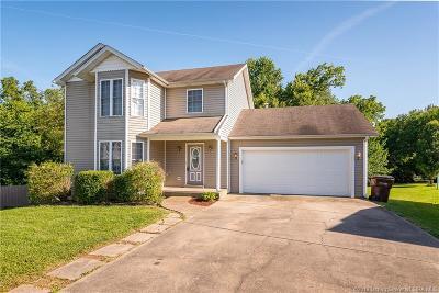 Jeffersonville Single Family Home For Sale: 1408 Sweet Pea Ridge