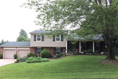 Sellersburg Single Family Home For Sale: 6714 Cedardale Drive
