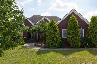 Sellersburg Single Family Home For Sale: 12106 Greenbriar Boulevard