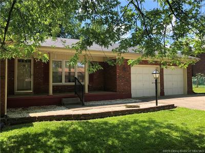 Sellersburg Single Family Home For Sale: 582 Fulton Street