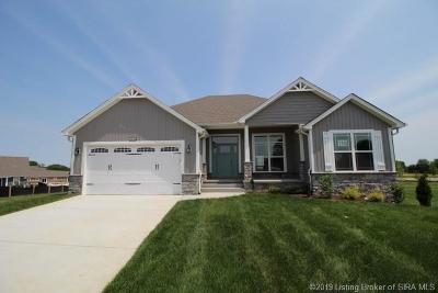 Jeffersonville Single Family Home For Sale: 3804 - Lot 119 Violet Court
