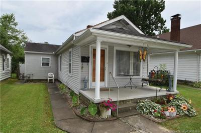 New Albany Single Family Home For Sale: 2011 Indiana Avenue
