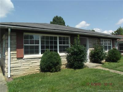 Clarksville Single Family Home For Sale: 131 N Patterson Avenue