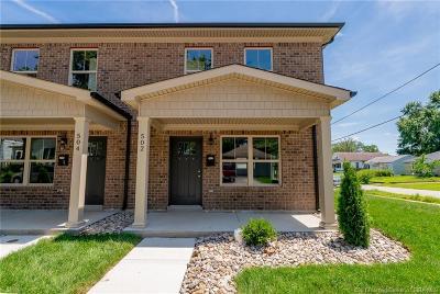 Jeffersonville Single Family Home For Sale: 502 E. 9th Street